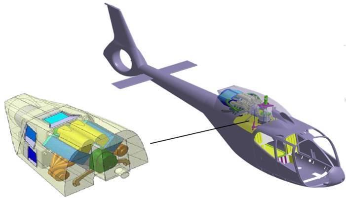 TEOS POWERTRAIN ENGINEERING - Jet A-1 aircraft engine
