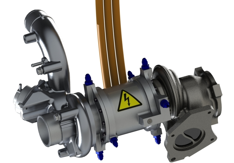 Teos powertrain engineering exhaust gases energy recovery system sciox Gallery